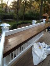 Progress on deck…